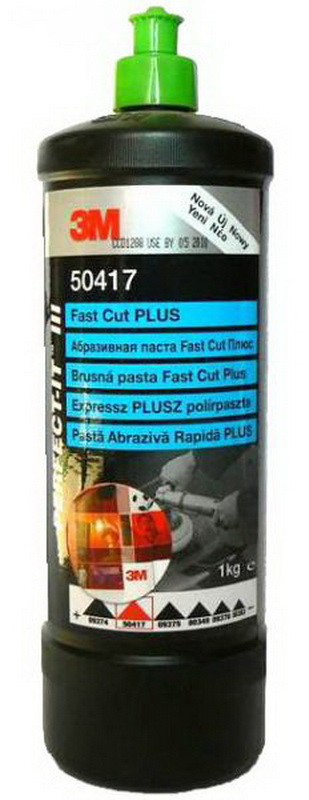 3M 50417 Fast Cut Plus brusná pasta zelená